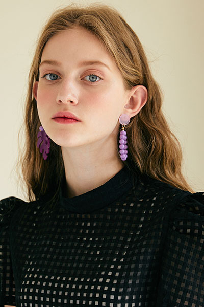 tropical earring