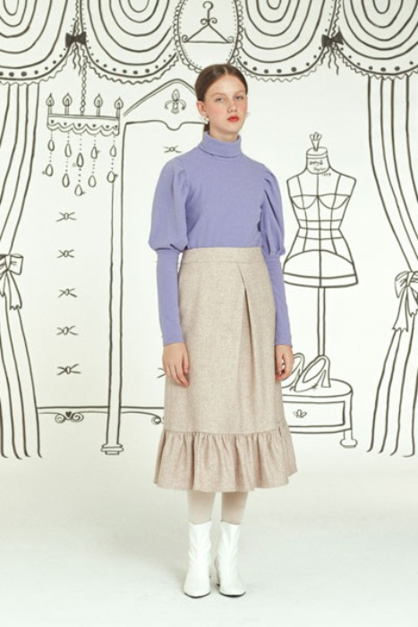grace full skirt (oatmeal)