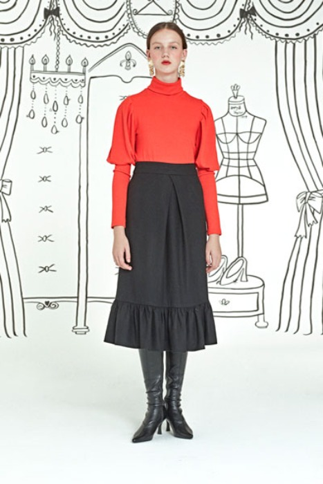 grace full skirt (black)