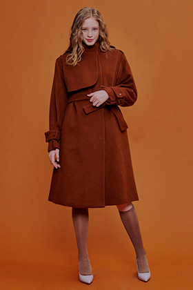 romantic trench coat(brown)