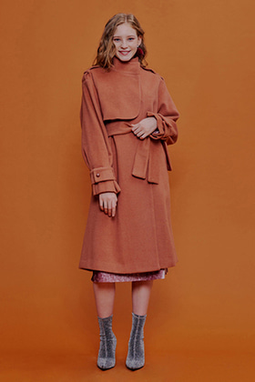 romantic trench coat(pink)