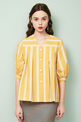 baby doll shirts (yellow)