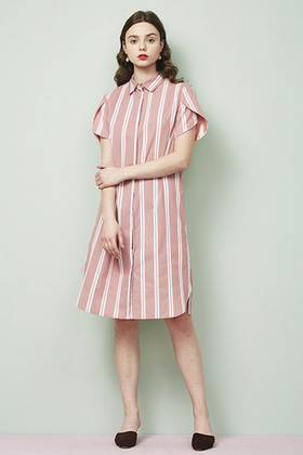 tulip sleeve shirts dress