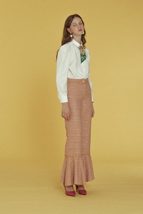 twinkle tweed pants (pink)