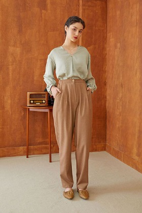 bloomer pants (beige)