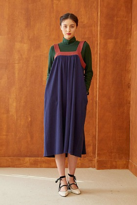 chima dress (navy)
