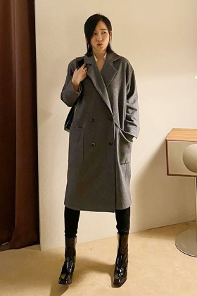 [classic line] raglan sleeve wool coat (3color)