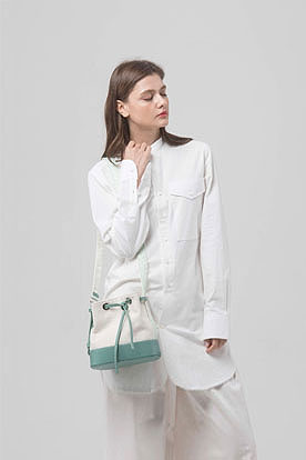 bucket bag (mint)